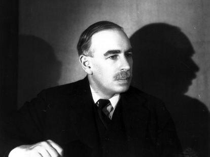 John Maynard Keynes, en una imagen de 1938 (fecha aproximada).