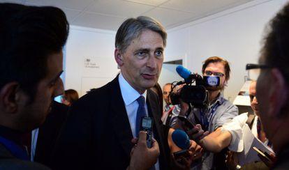 Hammond comparece ante la prensa el 15 de julio