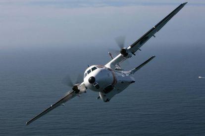 Avión Sasemar 103 de Salvamento Marítimo en una imagen de archivo.