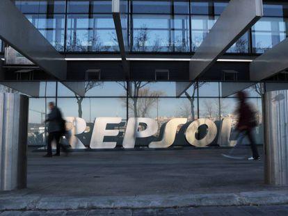 La sede de Repsol, en la calle Méndez Álvaro de Madrid