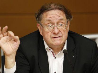Josep Ramoneda en la Universidad de Alicante.