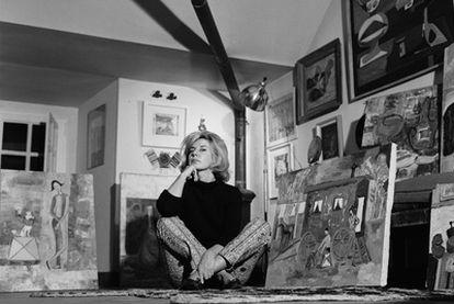 Cayetana Fitz-James Stuart, fotografiada en Madrid en el año 1961.
