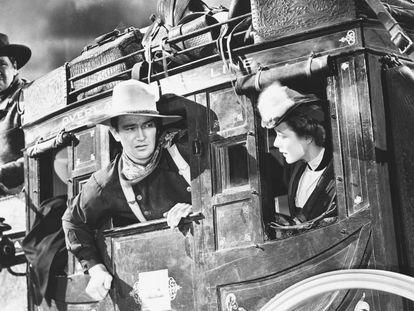 Fotograma de 'La diligencia' (1939), de John Ford.