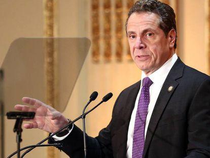 El gobernador neoyorquino Andrew Cuomo