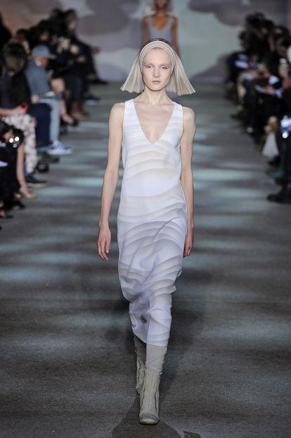 Una modelo en un desfile de Marc Jacobs, en febrero de 2014.