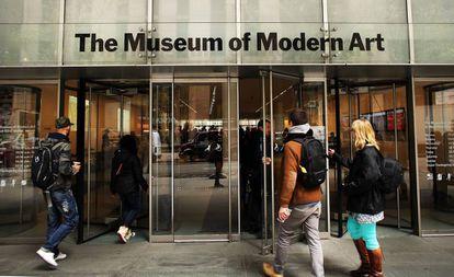 Visitantes en el Museo de Arte Moderno (MoMA) de Nueva York, en septiembre de 2019.