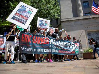 La muerte del afroamericano en 2014 desencadenó una oleada de protestas contra la brutalidad policial