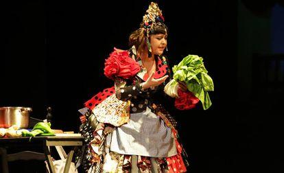 Maui de Utrera en el espectáculo 'Domingos de vermut y potaje'.