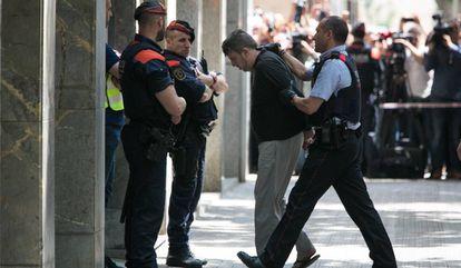 El detenido por el asesinato de Laia, una menor de 13 años, en Vilanova.