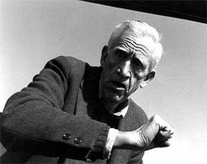 El escritor J. D. Salinger, en una de sus escasas imágenes públicas.