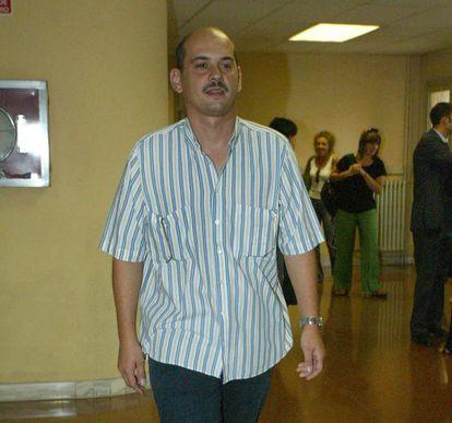 El intermediario, José María Penín, en su declaración como imputado ante el juez en 2006.