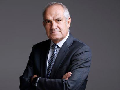 Antonio Caño, en las instalaciones del periodico en 2017.