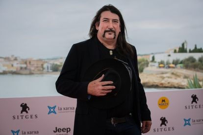 El director Richard Stanley durante la presentación de la película 'Colour out of space' en el Festival de Sitges en 2019.