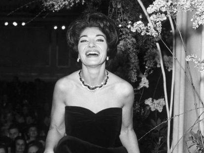 Maria Callas, en una imagen de 1962.