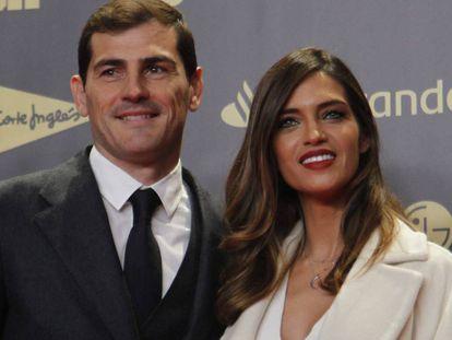 Iker Casillas y Sara Carbonero, en diciembre de 2018 en Madrid.