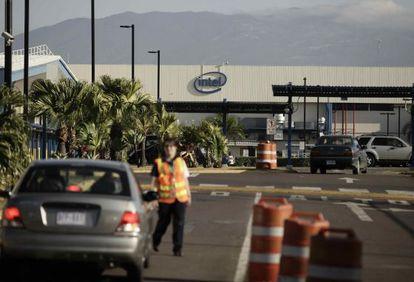 La planta de manufactura de Intel, en San José (Costa Rica).