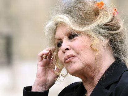 La actriz francesa Brigitte Bardot.