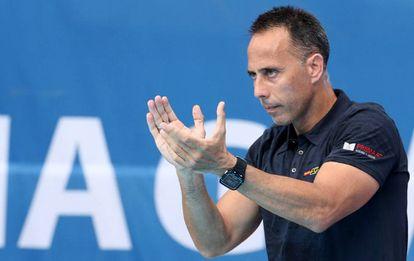 David Martín, seleccionador de waterpolo.