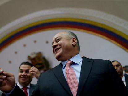 Diosdado Cabello, el 'número dos' del chavismo, en una imagen del 8 de enero de 2020.