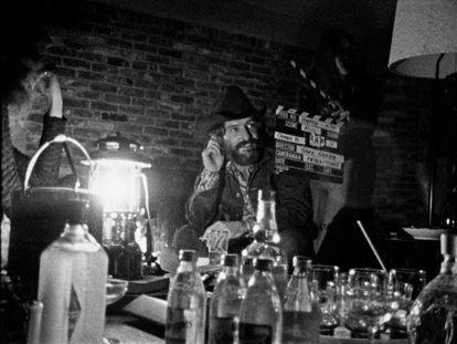 Dennis Hopper, en el documental 'Hopper /Welles', estrenado en la Mostra de Venecia.