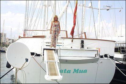Mata Mua, el barco de Carmen Cervera.