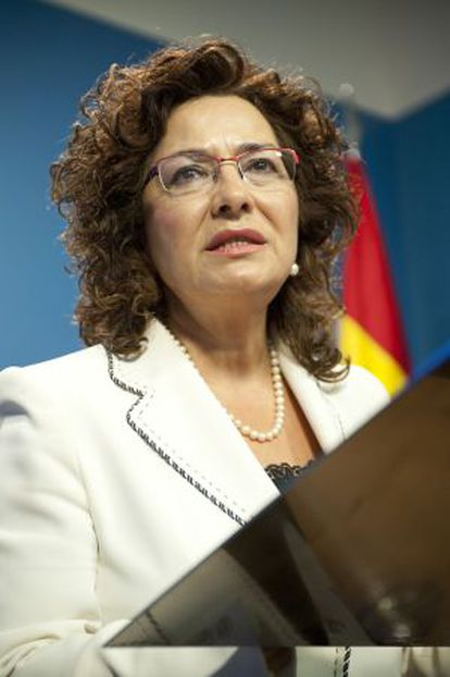 La portavoz del PP en las Cortes de Castilla-La Mancha, Carmen Riolobos