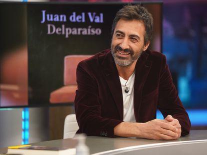 El escritor y guionista Juan del Val, en 'El Hormiguero' el martes.