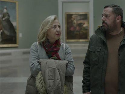 Carmen Machi y Pepón Nieto, en 'Un efecto óptico'.