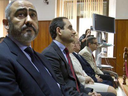 Rodríguez de Castro, en la Audiencia Provincial de Cádiz.
