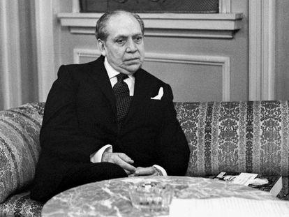 Arturo Uslar Pietri en Madrid en 1977.