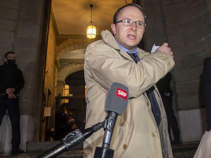 El fiscal suizo Yves Bertossa en Ginebra el pasado enero.