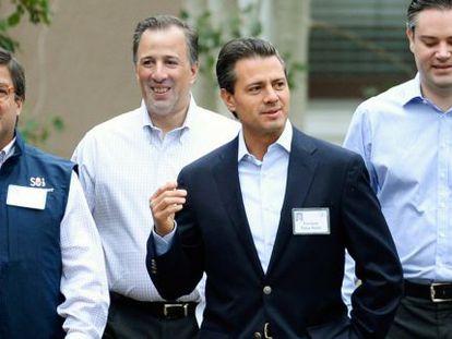 Peña Nieto, el pasado 11 de julio en un encuentro de empresarios en Idaho (EE UU).