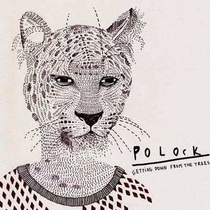 Carátula del último disco de Polock, diseño de Carla Fuentes.