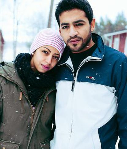 Shihabi y Diab, llegados a Suecia tras haber pagado 12.000 euros a un contrabandista que se encargó de organizar su viaje.