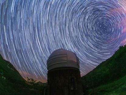 L'Observatori Astronòmic d'Albanyà.
