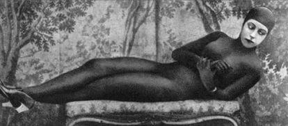 Musidora, en 'Los vampiros'.