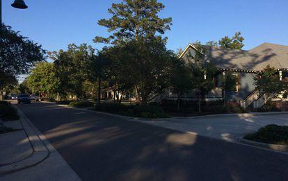 Una calle de Mandeville
