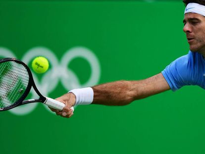 El tenista argentino Juan Martín Del Potro.