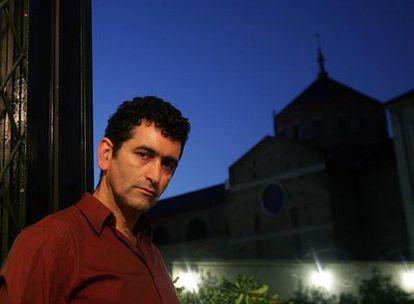 Juan Mayorga, ayer en Madrid.