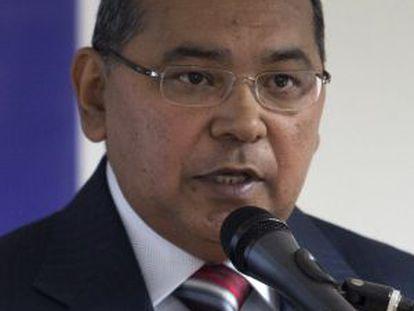 Nestor Reverol cuando era el zar antidrogas de Venezuela.