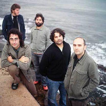 Los componentes del grupo mallorquín Antònia Font.