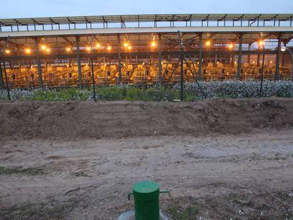 La planta de producción de cloro de Flix.