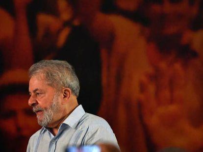 Lula, el 25 de enero.