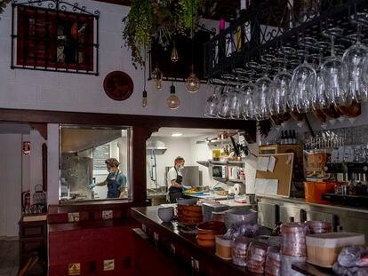 Bar El Paseíllo, en el centro de Sevilla.