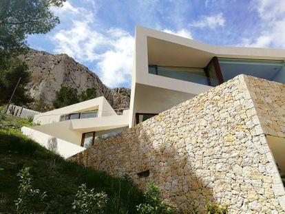 Casa Maryvilla, del estudio valenciano Nodopía.