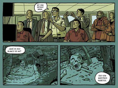Viñetas de 'El tesoro del Cisne Negro'.