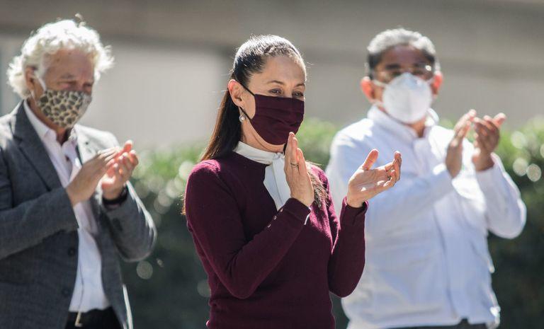 Claudia Sheinbaum da positivo por coronavirus   EL PAÍS México