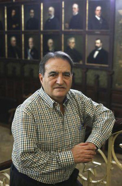 Francisco Delgado, presidente de Europa Laica.