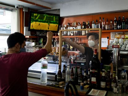 Bar Dalin y Vanessa en la calle de Diputació.
