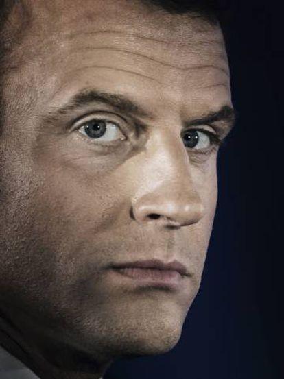 Emmanuel Macron, en París, el pasado 8 de abril.